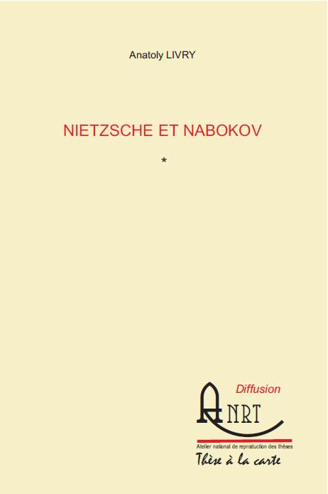 PUBLICATION de la thèse d'Anatoly Livry