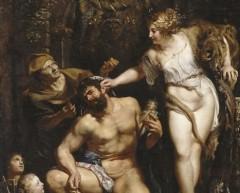 Nietzsche, esclave chez Omphale / Ницше в рабстве у Омфалы  / Nietzsche, Sklave bei Omphale